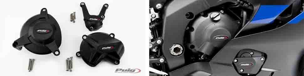 tapas protector motor, tipo GBRacing