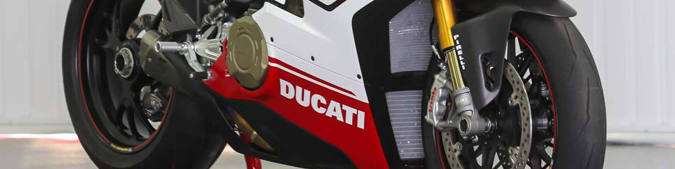 Carenados de circuito fibra de vidrio para Ducati 848/1098/1198
