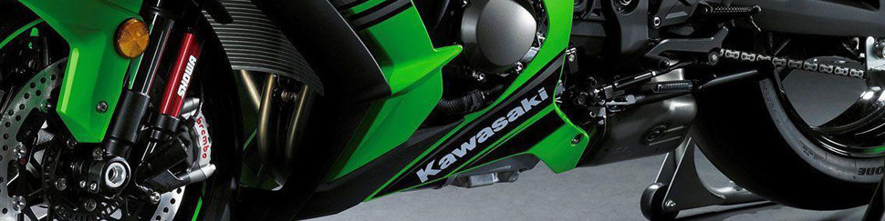 Carenados de circuito fibra de vidrio para Kawasaki ZX6R 2009-2012