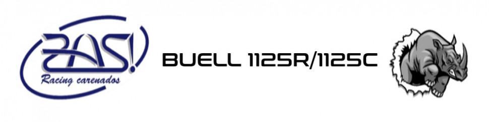 Carenados de circuito fibra de vidrio para Buell 1125R/1125C