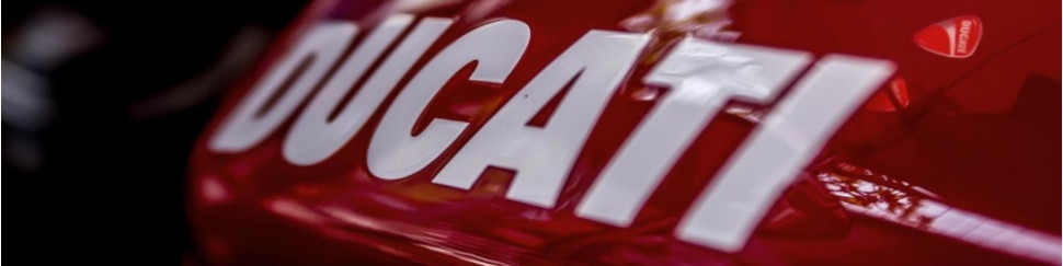 Carenados de circuito en fibra de vidrio para Ducati
